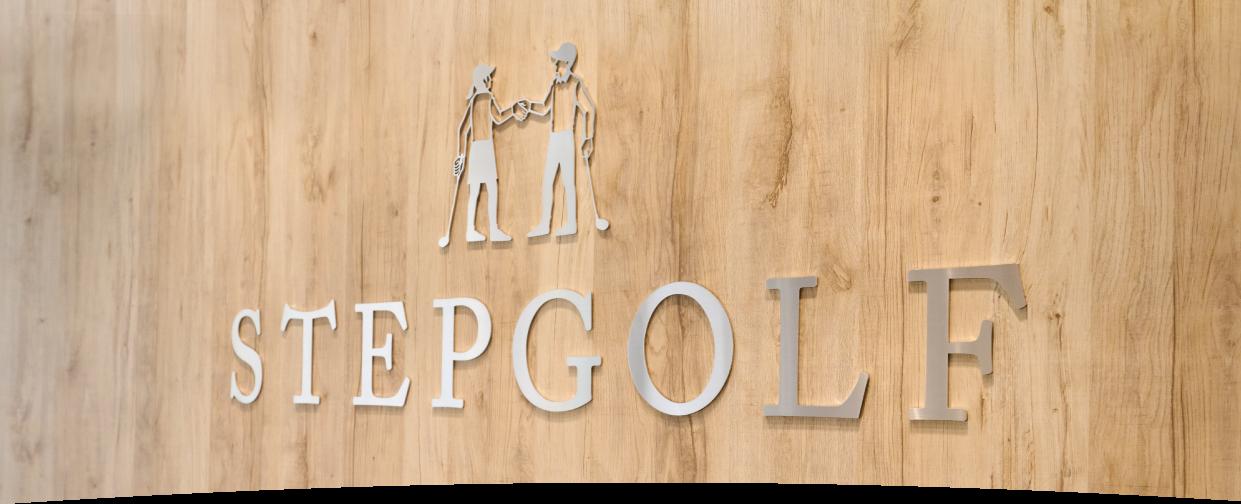STEPGOLFのロゴ